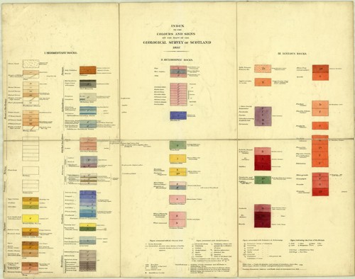 Standard colours for Scotland 1897